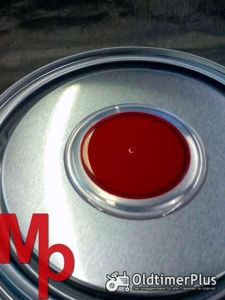 IHC Schlepperlack  rot Foto 1