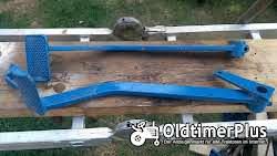 Hanomag Doppel-Bremspedal Fusbremshebel R435, R324 und andere Foto 2