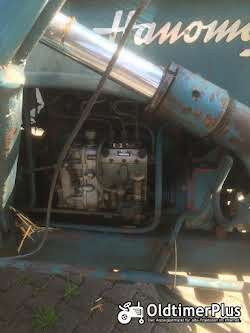 Hanomag R324S mit Frontlader Foto 4