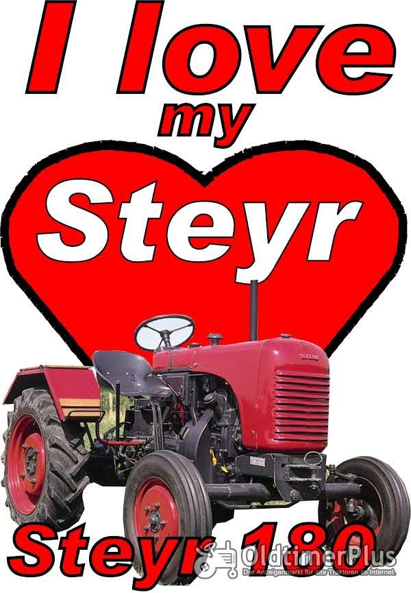 I love Steyr 180 T-Shirt Foto 1