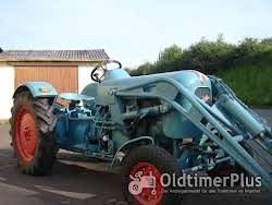 Eicher Smalspur Weinberg traktor Foto 4