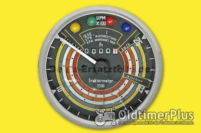 Deutz Traktormeter Foto 2