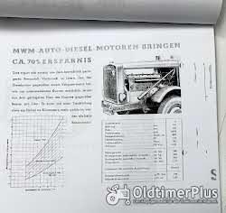Opel Büssing Hanomag Saurer Mulag Krupp MAN Hansa-Loyd Magirus Dürkop Diesel Motor 1939 neu Foto 7