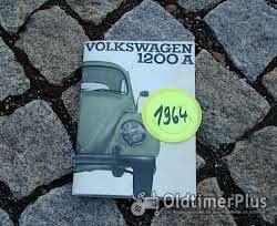 Betriebsanleitung VW 1200 Käfer Standard 1962 Foto 8