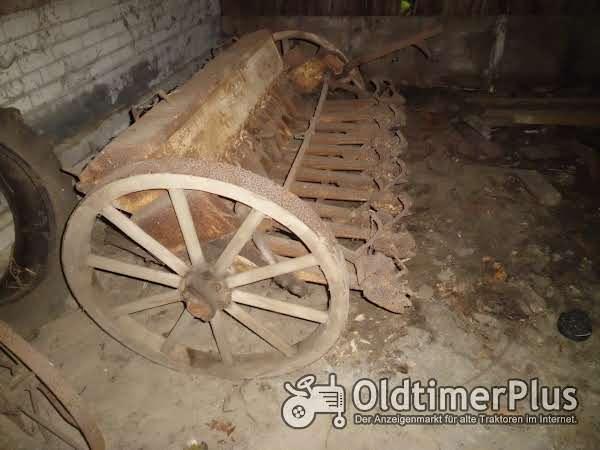 Pommersche Eisengießerei Drillmaschine Foto 1