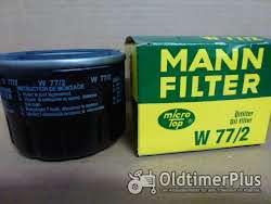 MANN Ölfilter W77/2
