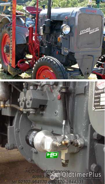 DEUTZ EICHER F2M414 F1M414 Motor Ölfilter Adapter Umbausatz Ölfilterumbausatz Foto 1