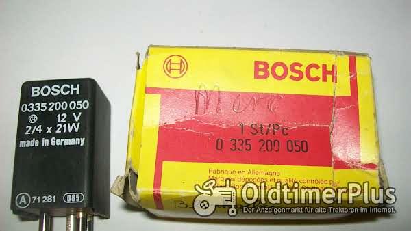 Bosch 0335200050 NEU Blinkrelais, Blinkgeber für Mercedes-Benz W123 Coupe [C123] Foto 1