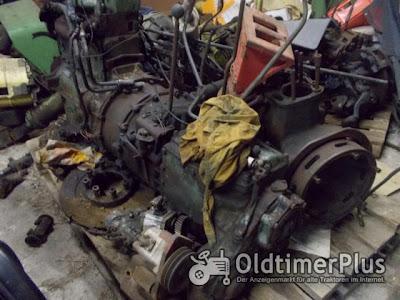 MB TRAC 800 Motor mit Getriebe , Achsen etc. Foto 2