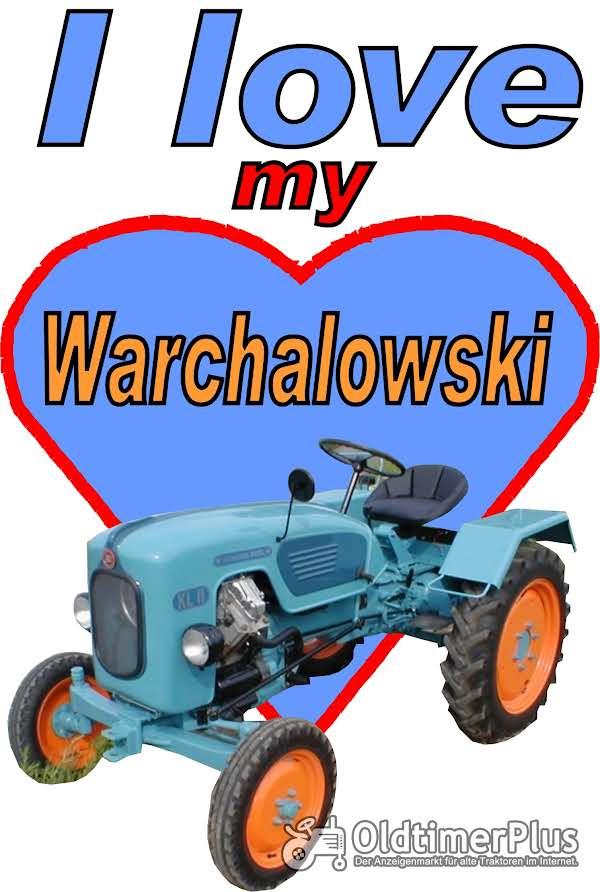 I love Warchalowski T-Shirt Foto 1
