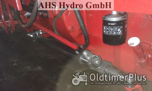 Original Riva Calzoni Rcd. Hydraulische Lenkung CASE IH IHC 624 IHC 654S IHC 724 IHC 824 Foto 1
