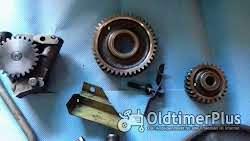 Deutz F3L812, D4005, Motorenteile Deutz F3L812, Riemenscheibe, Ölpumpe, Zahnrad Foto 2
