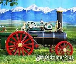 Dampftraktor Modell 1:8 Foto 2