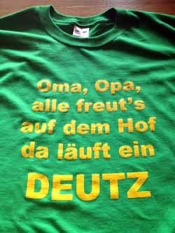 Deutz T-Shirt Foto 2