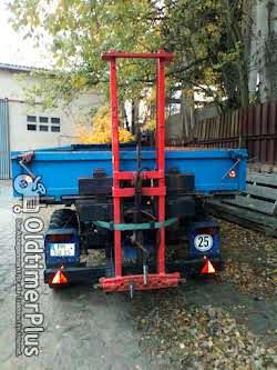 Belarus MT 80 mit HW 60 und TK 5 Foto 3