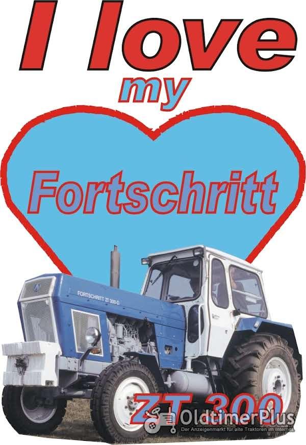 I love Fortschritt ZT 300 T-Shirt Foto 1