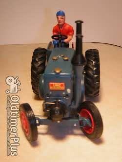 Lanz Bulldog MO-Miniatur Modell in Guss Weissmetall Foto 4