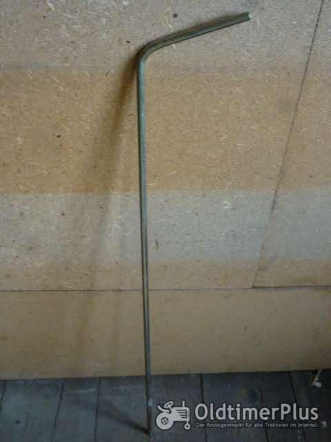 Deutz 06, 07er Verstellstange (Drehzahlverstellung) Foto 1