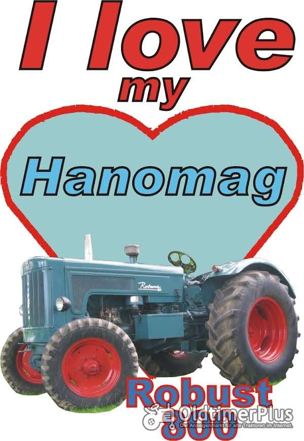 I love Hanomag Robust 800  T-Shirt Foto 1
