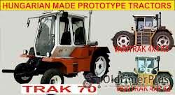 Sonstige 3 Prototype tractors, Varitrak 4x4 K2-3, Trac 70