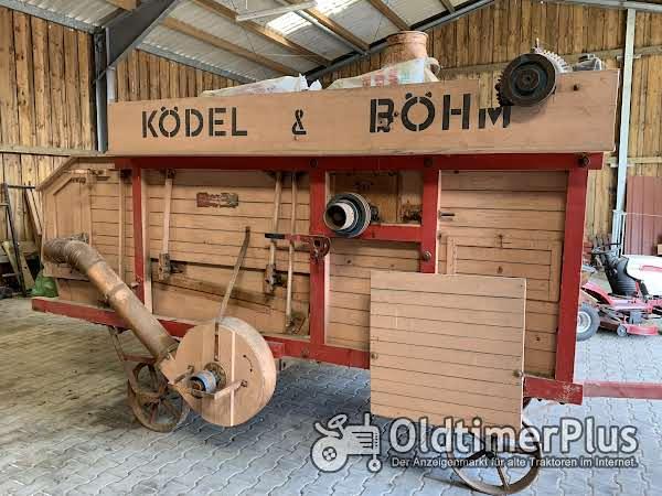 Ködel & Böhm Dreschmaschine Foto 1