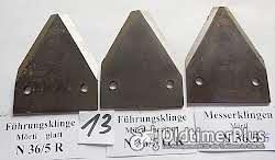Mörtl, Stockey & Schmitz, Mähwerk, Ersatzteile, Messerklingen, Führungen, Messerkopf, Foto 12