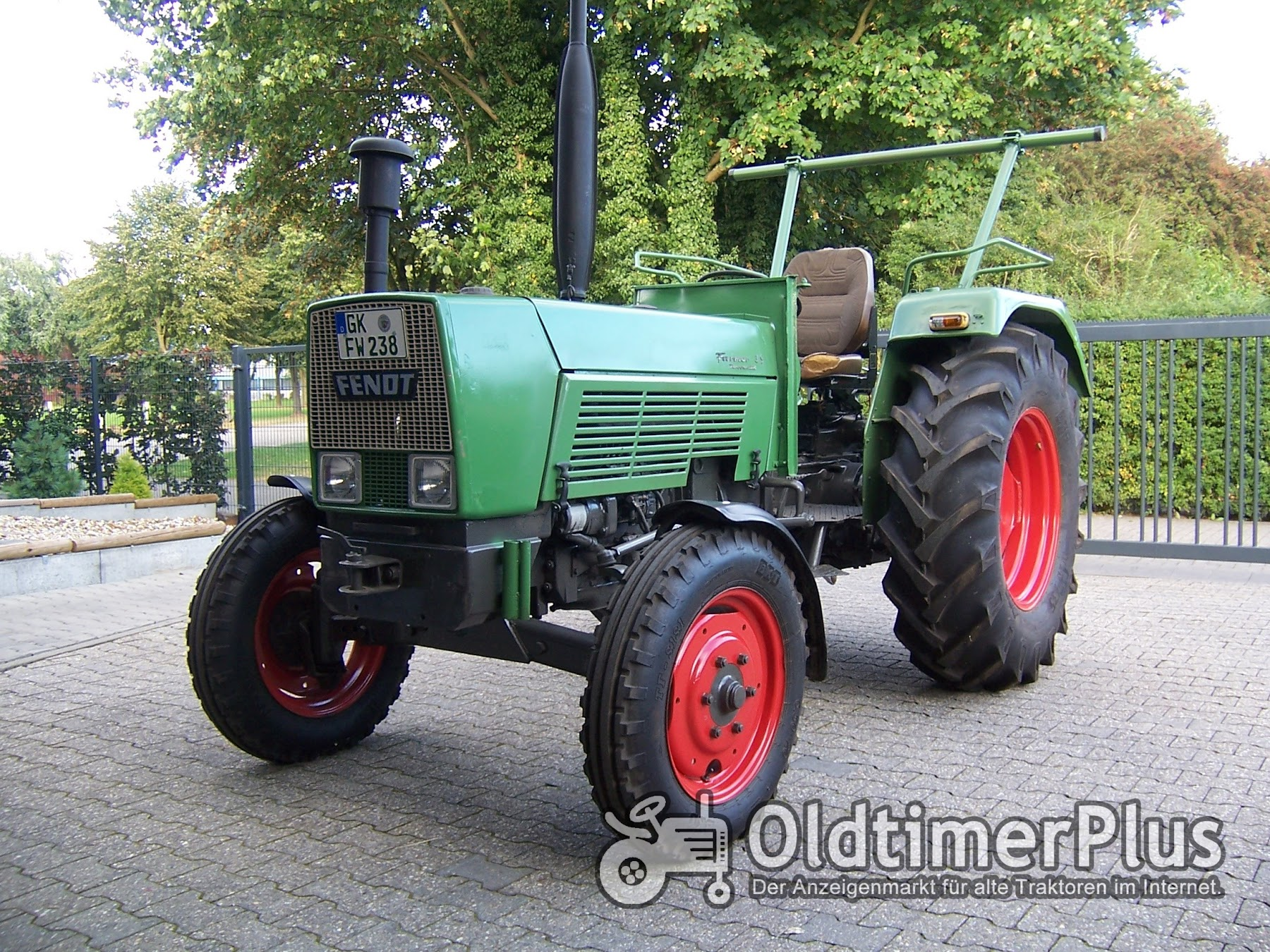 Fendt Farmer 3 S Turbomatik Foto 1