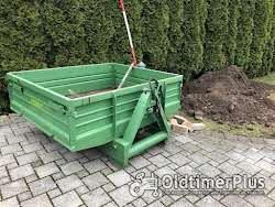 Fendt GT Geräteträger 230 - 275 Original Heckcontainer Original Heckcontainer Heck Container Hydraulik Kipper Foto 2