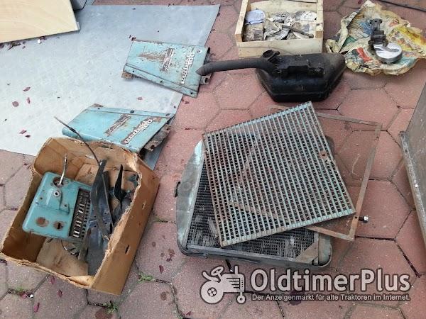 Hanomag Perfekt 401 Teileträger Foto 1