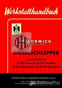 IHC Mc Cormick Farmall en International werkplaatsboeken  handleidingen en onderdelenboeken Foto 11