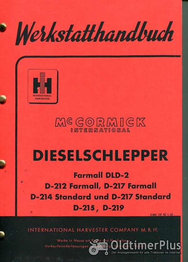 IHC 212 - 219 Werkstatthandbuch Foto 1
