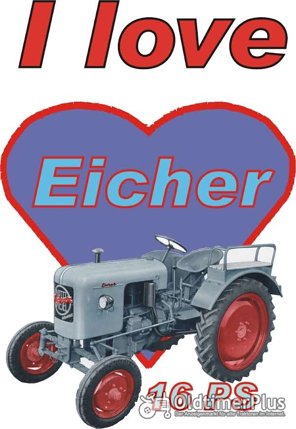 I love Eicher 16 PS T-Shirt Foto 1