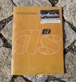 Betriebsanleitung Citroen D Super D Special ID / DS 1971 Foto 2