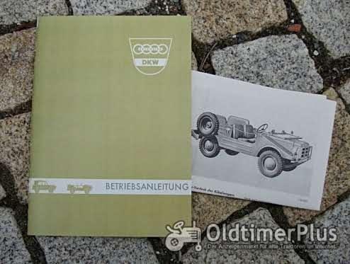 Betriebsanleitung DKW F 91 Munga 1966 Bundeswehr Geländewagen Foto 1