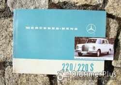 Betriebsanleitung Mercedes W111 220 SE 1963 Foto 6
