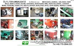 Porsche Diesel Master Super Standard Junior Allgaier Ölfilter Umbausatz Adapter Foto 4