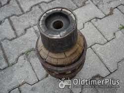 Unbekannt Radnabe von Holzrad Foto 2