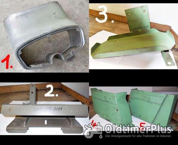 Eicher Tankverkleidung, Seitenbleche, Motorhaubenhalterung, Batteriehalterung, Serie 3000 Foto 1