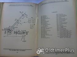 Deutz Bed.Anleitung u.Einzelteilverzeichnis für den D7824 50 PS Diesel Stahl Schlepper Foto 9