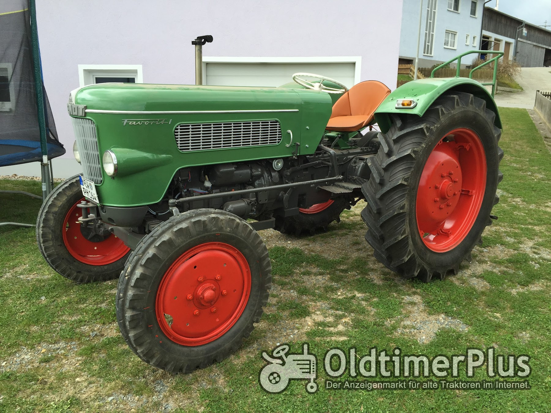 Reparatur Fendt Favorit 1
