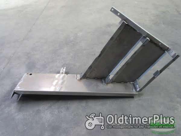 MB Trac 700 800 900 1000 1100 Kotflügel vorne 3-stufig 300 mm Schutzblech Blechteil Foto 1