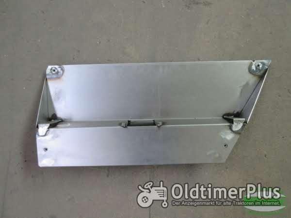 MB Trac 700 800 900 1000 1100 Abdeckblech Batteriedeckel rechts 2-/3-stufig Foto 1