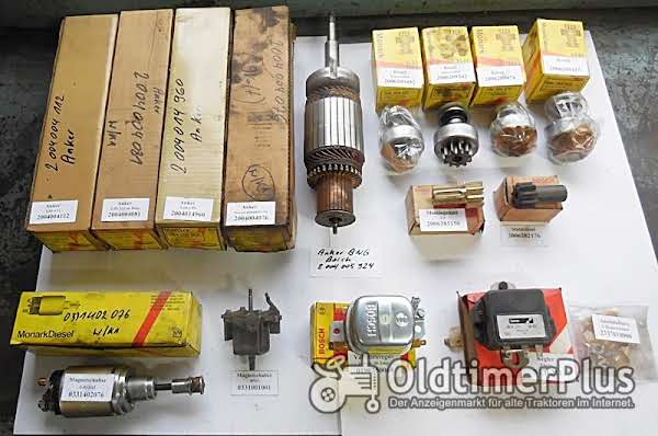 Bosch Anlasser, Lichtmaschinen, Generatoren, Magnetschalter, Regler, Lukas, Ersatzteile, Foto 1