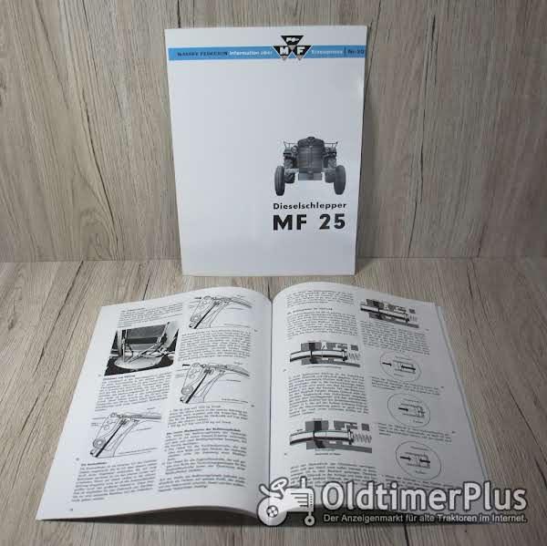 Massey-Fergunson Informationsbuch über MF Erzeugnisse Nr.20 Foto 1