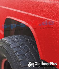 Herculiner Beschichtung für Nutzfahrzeuge Traktoren Oldtimer Landtechnik rot 3,69 Liter set Foto 3