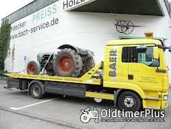 Transporte Überführungen Rückholdienst Einzeltransporte Eiltransport Trecker Traktor Eicher Foto 10