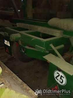 Hanomag A 8 Anhänger Langmaterial Foto 5