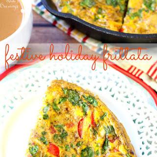 Festive Holiday Frittata Recipe