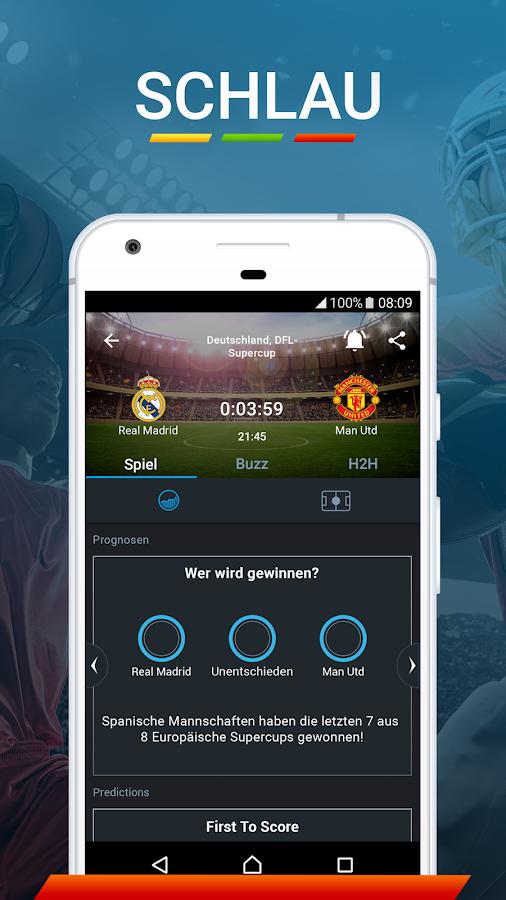 fußball liveticker app