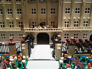 Photo: Another angle on the palace scene.